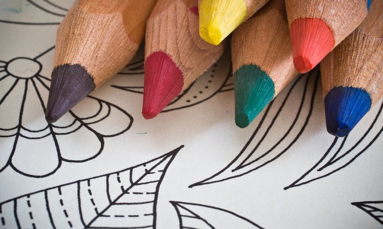 Adult Coloring Books Are Actually Really Good For Your Mental Health, According To A New Study by Kristian Wilson for Bustle