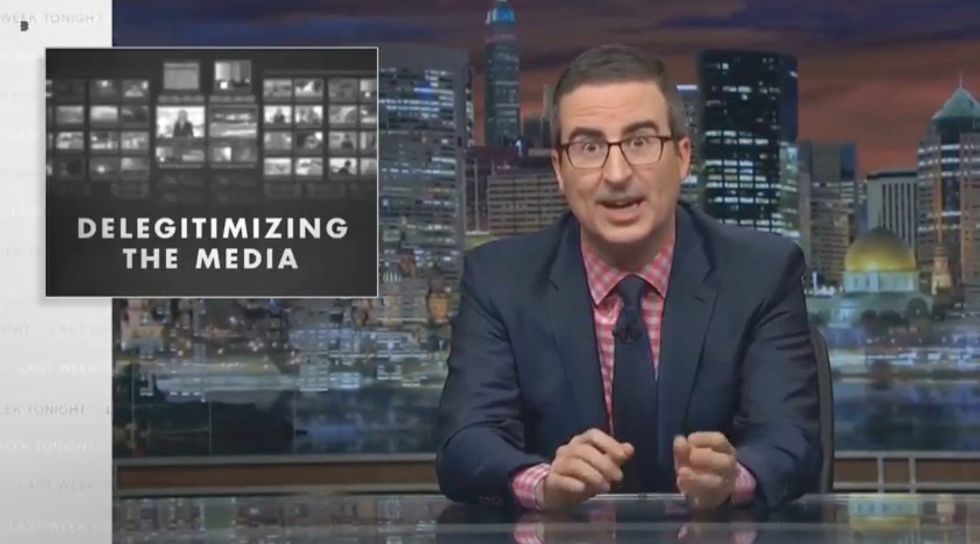#EndorseThis: John Oliver Delivers Scathing Review Of Trump Year One