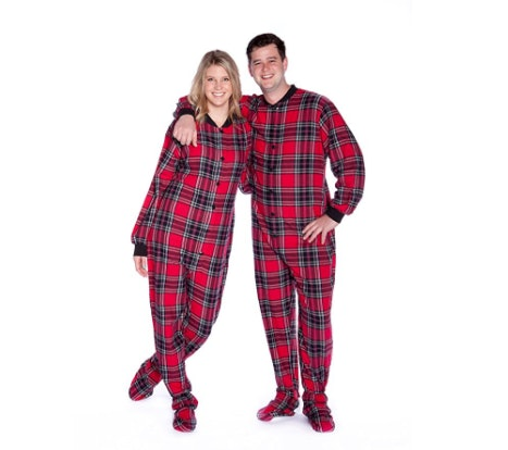 f56428cf9722 7 Matching Christmas Pajamas For Couples That ll Keep You Warm   Snuggled Up