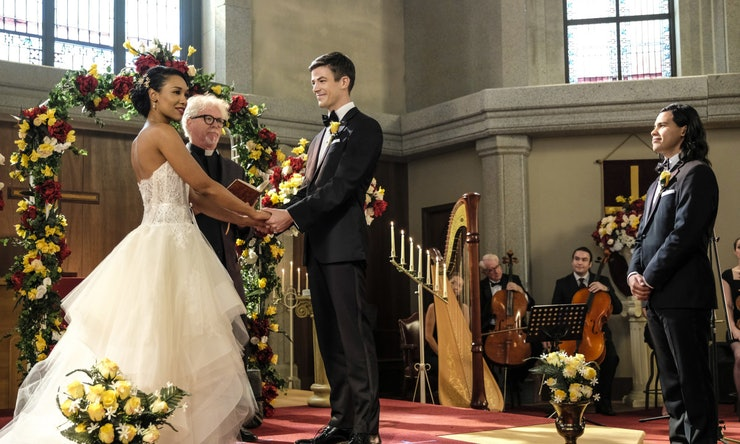 Barry Iris Wedding On The Flash Is Really Hening Cast Promises