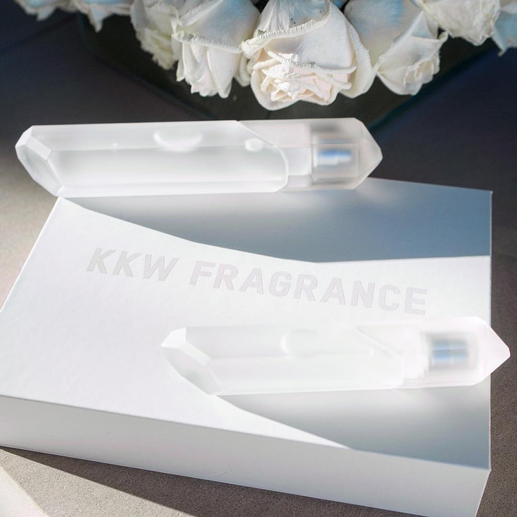 Kkw Perfume Crystal >> When Is Kim Kardashian's Crystal Gardenia KKW Fragrance Restocking? This Wasn't A One-Time Release