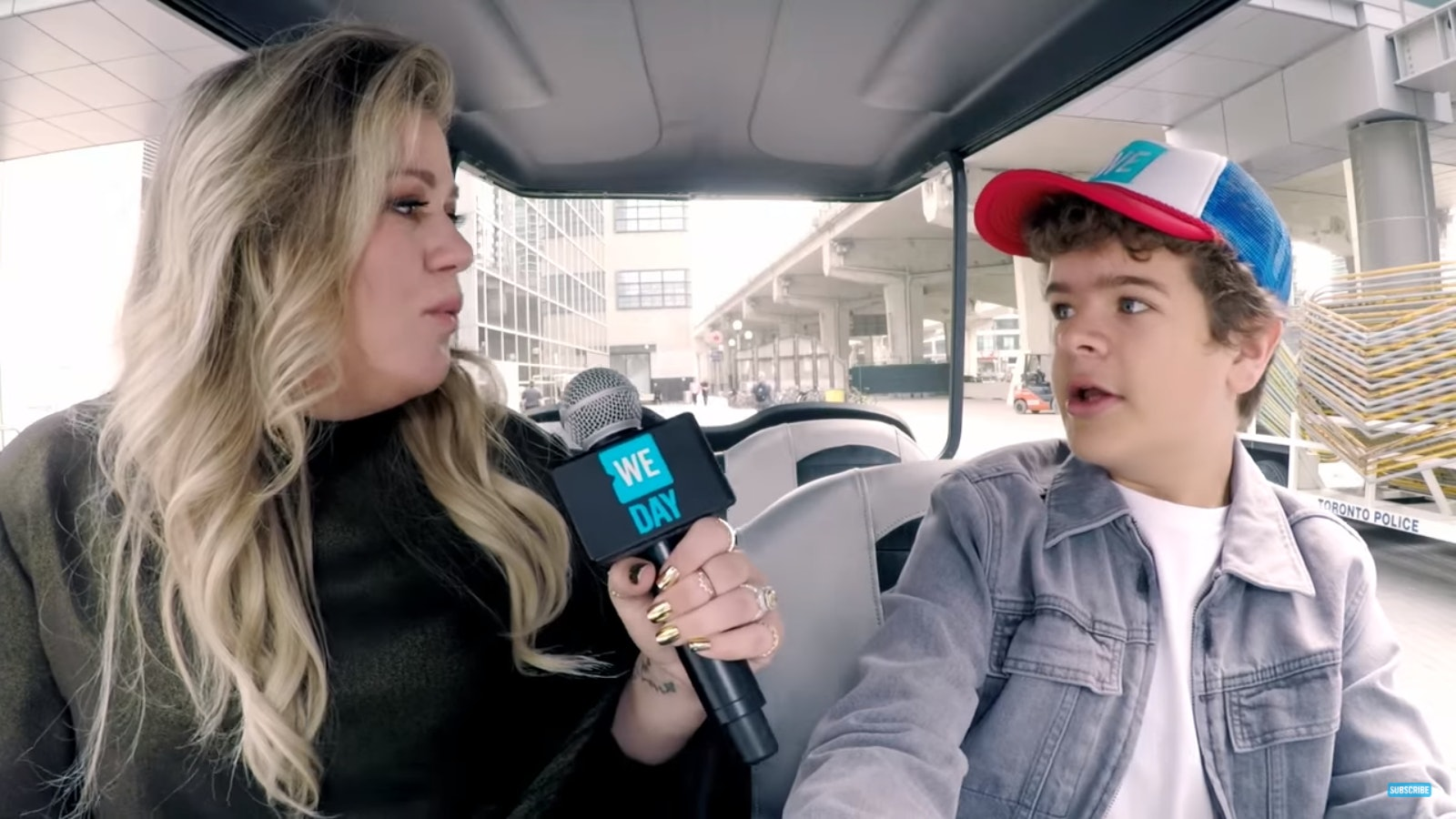 'Stranger Things' Actor Gaten Matarazzo Helps Kelly Clarkson Do Vocal Warm-Ups