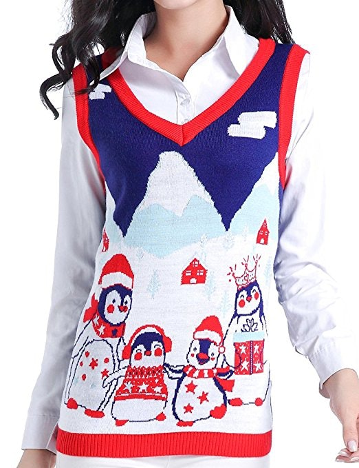 the 32 best ugly christmas sweaters - Christmas Sweater Vest