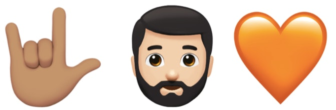 tweets about the bearded emoji show everyone s hyped just in time
