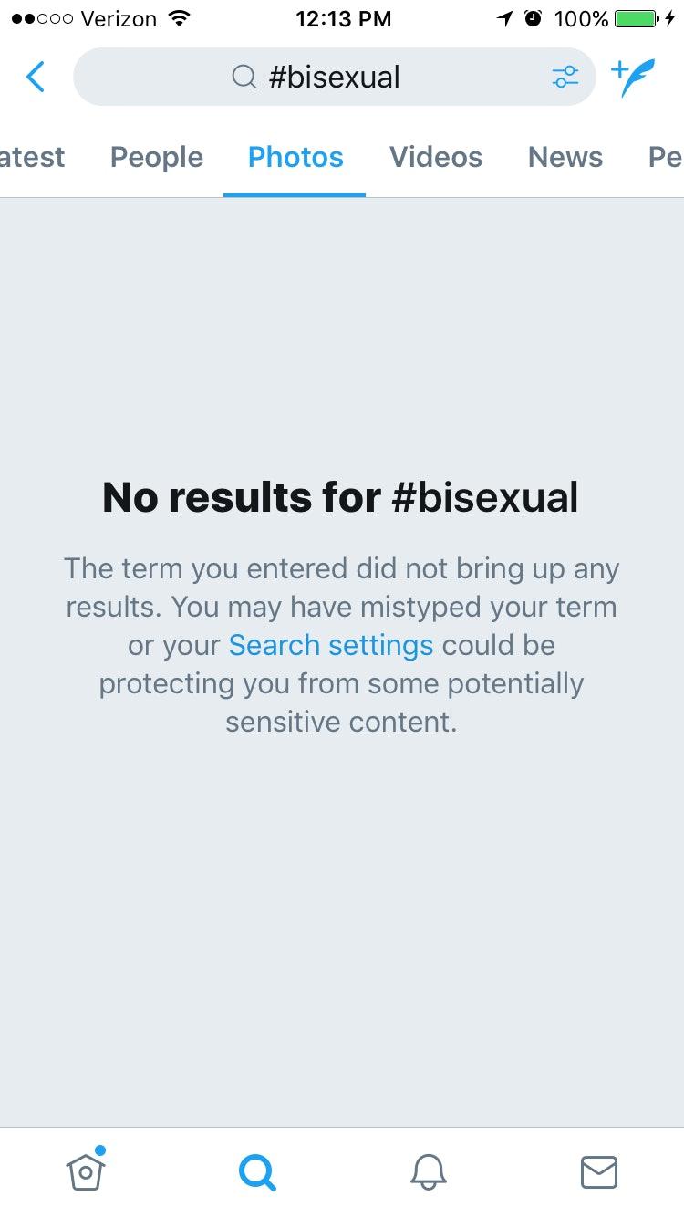 Bisexual erasure definition