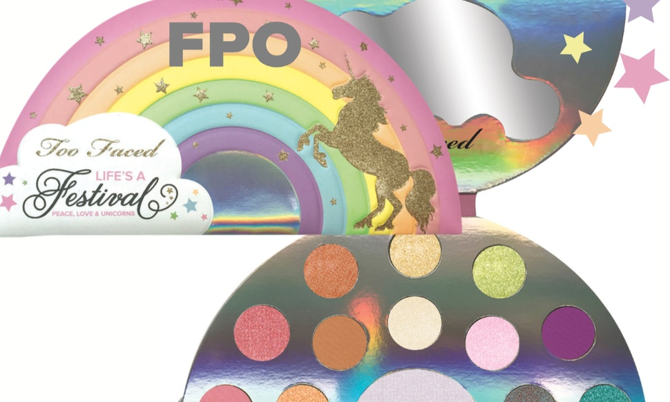 What 39 S In The Too Faced Life 39 S A Festival Collection It 39 S All About Unicorns