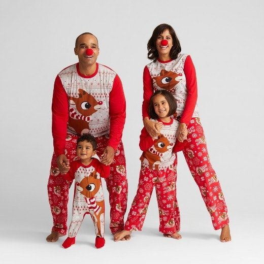 7 naughty nice christmas pajamas to wear with your person this season - Family Pajamas Christmas