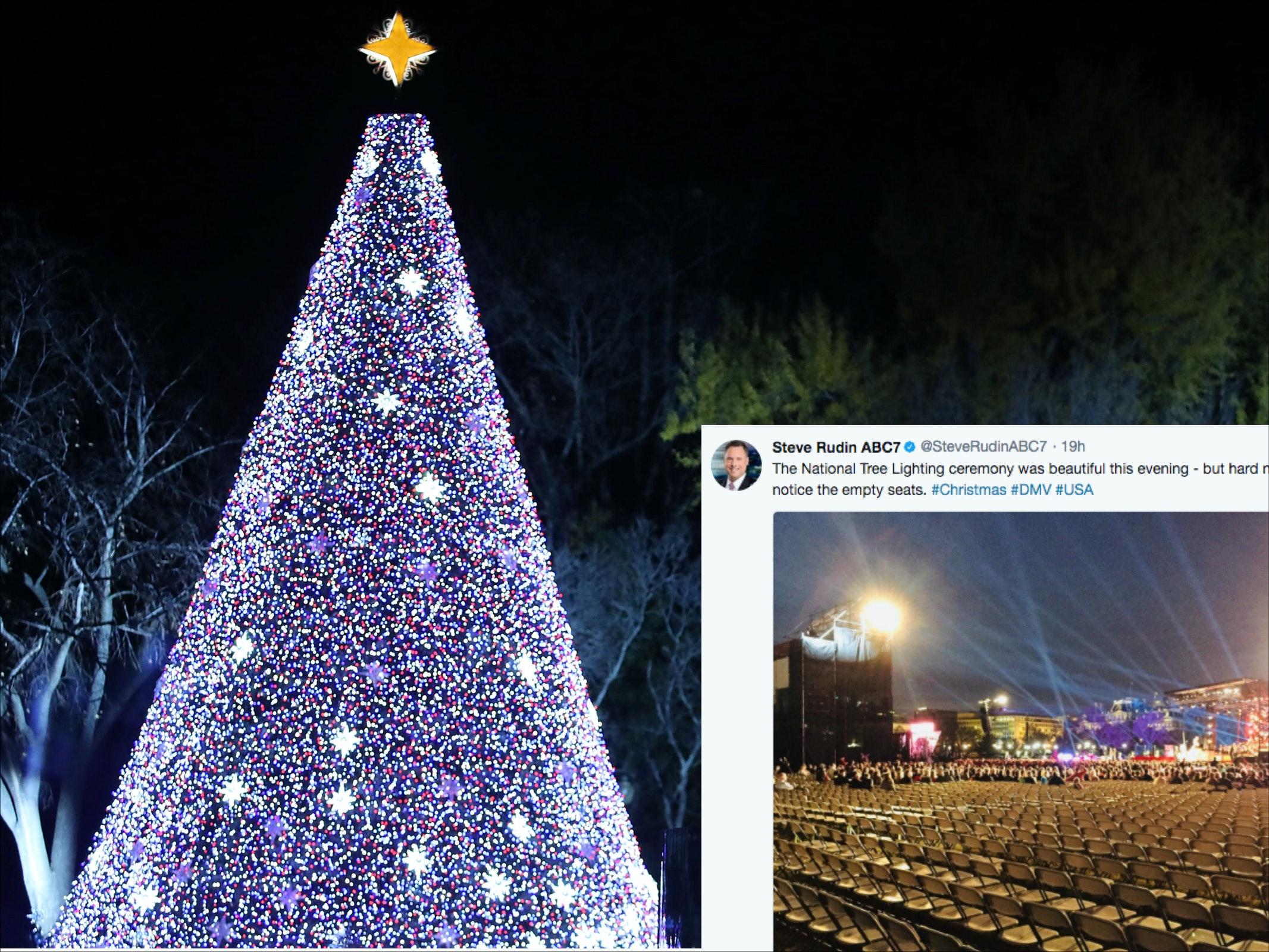 & Photos Of Trumpu0027s Christmas Tree Lighting Are All Kinds Of Awkward azcodes.com