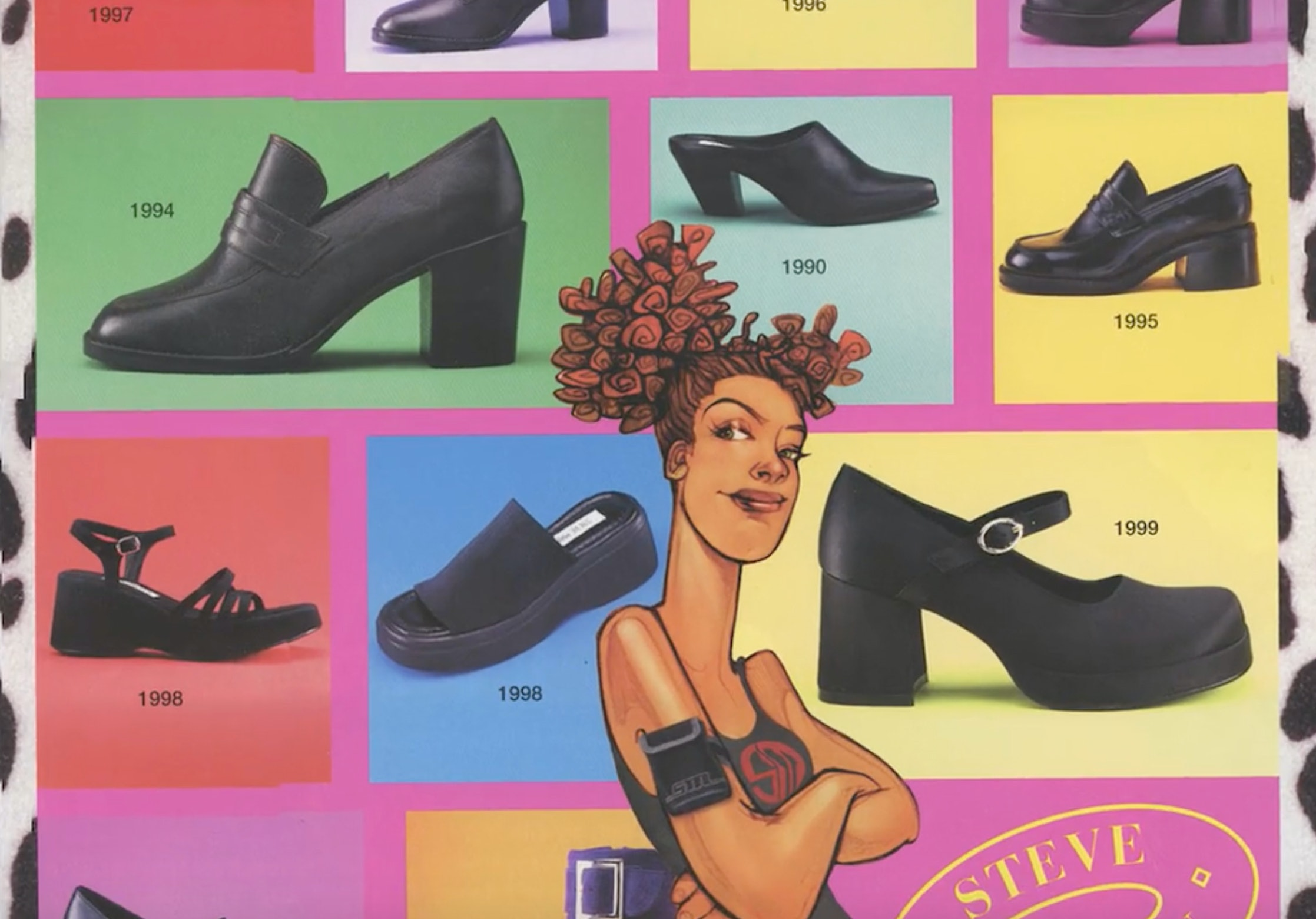 "9c5da435303 Everyone Had Steve Madden s ""Slinky"" Shoes In The  90s — But That Wasn t  Even His First Hit Style"