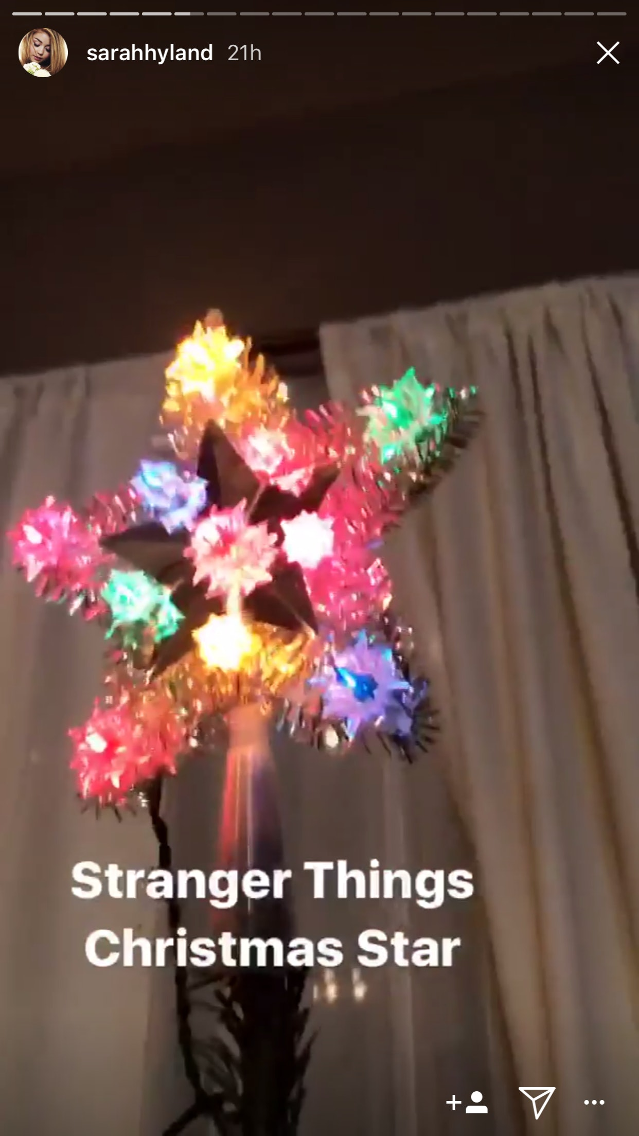sarah hyland wells adams decorated their first christmas tree together the decorations will make you laugh - Stranger Things Christmas Decorations
