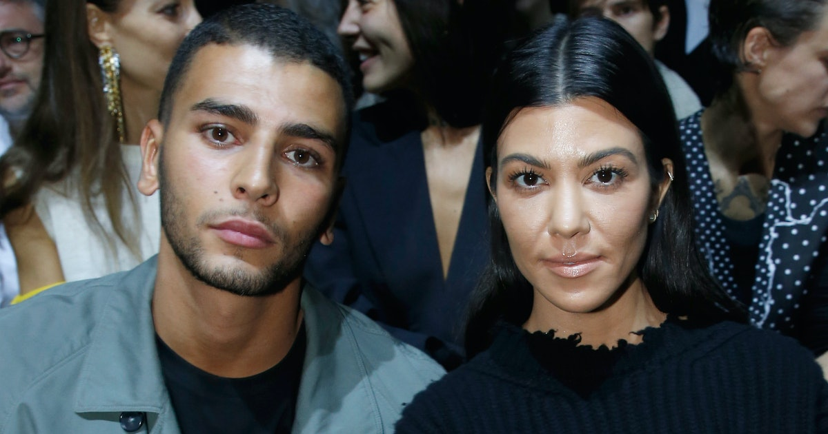 Kourtney Kardashian & Younes Bendjima's Christmas Plans Mean They're Getting Serious