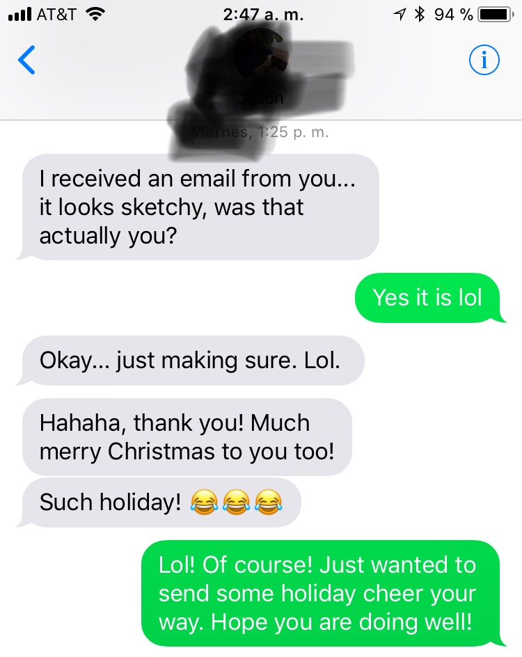 I sent christmas cards to my exes what happened next was surprising m4hsunfo Images
