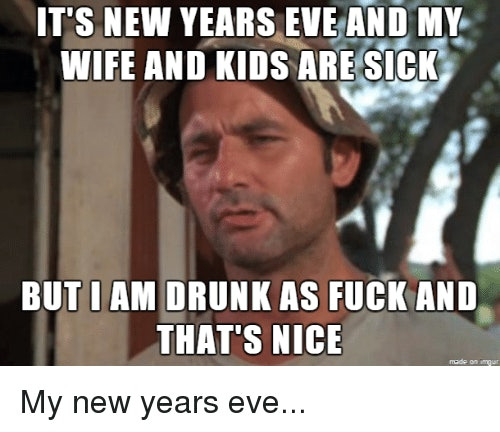 12 Hilarious Memes About Celebrating New Year S Eve With Kids In 2017