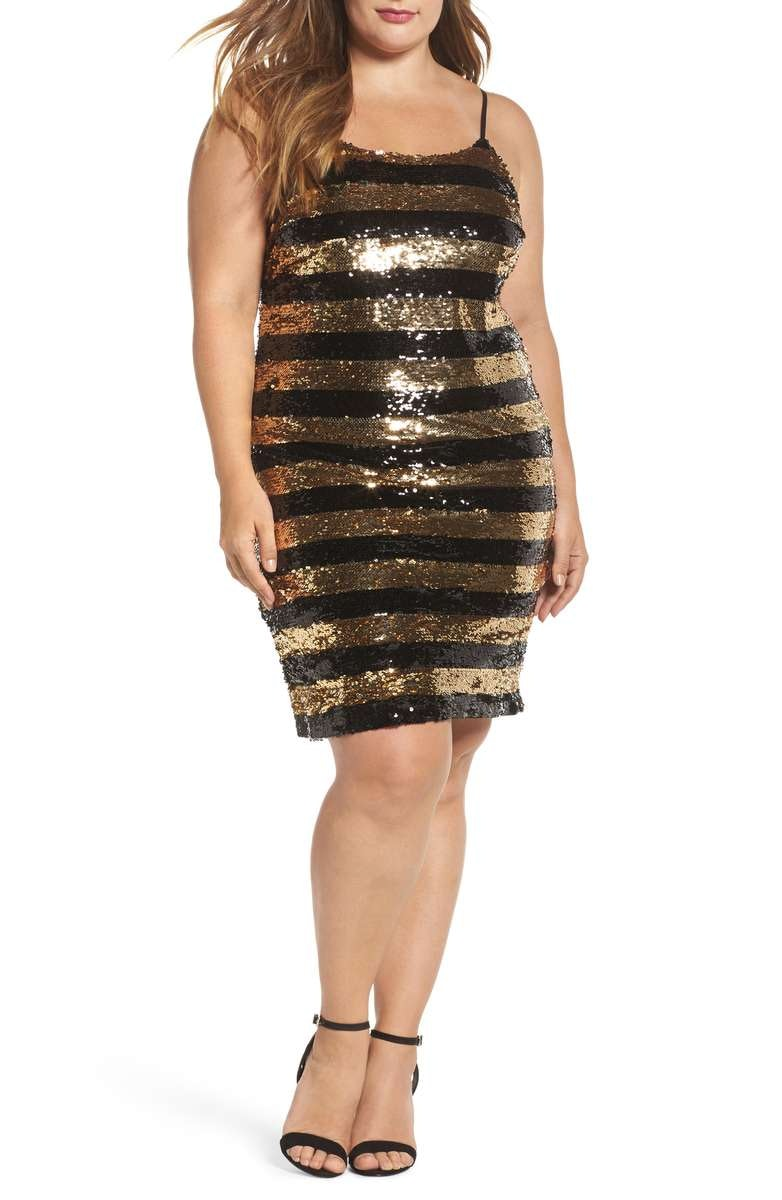 f34d23db835 17 Plus Size New Year s Eve Tops   Dresses To Start 2018 On A Hot Note