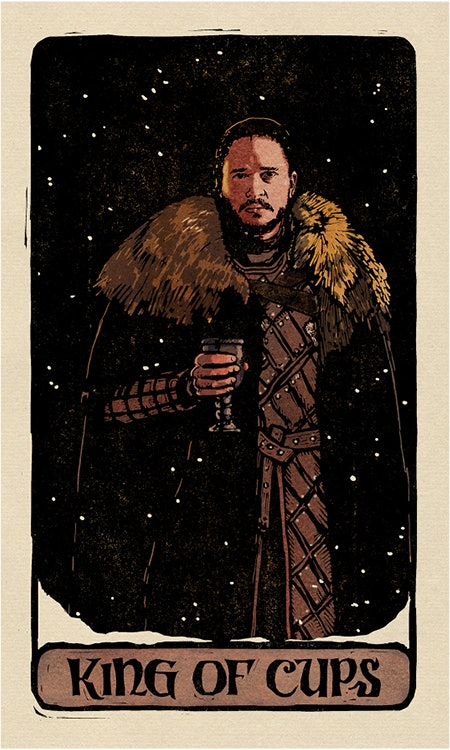 These 'Game Of Thrones' Tarot Cards Include A Pairing That