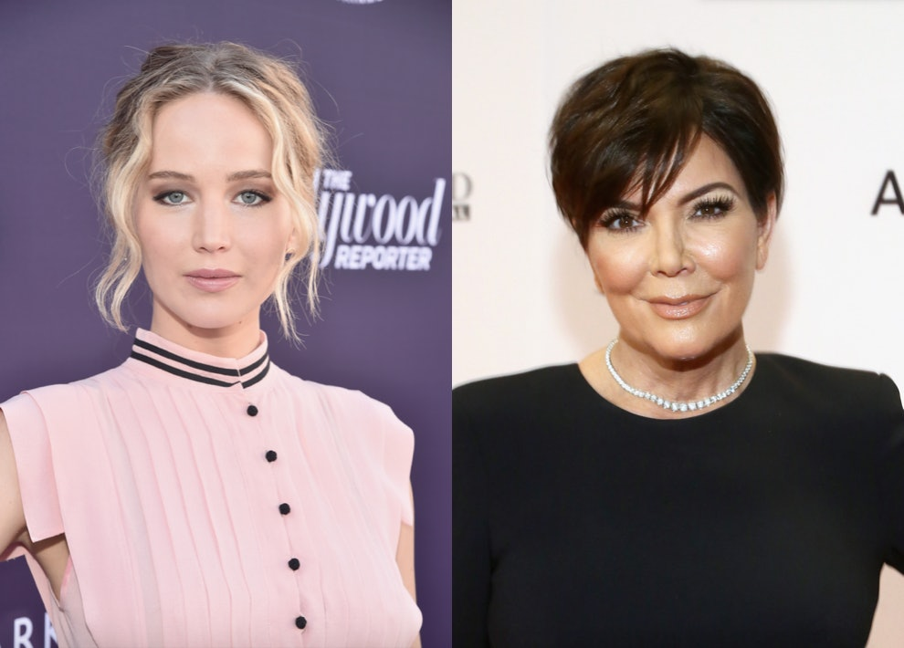 Jennifer Lawrence got Kris Jenner the flawless  Christmas present