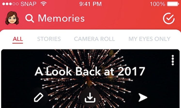 How To Find Your Snapchat Memories Story For A Nostalgic Look - 27 creative snapchats will ever see