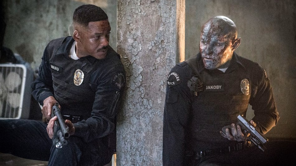 Netflix's 'Bright' left around 60 makeup artists out of the end credits