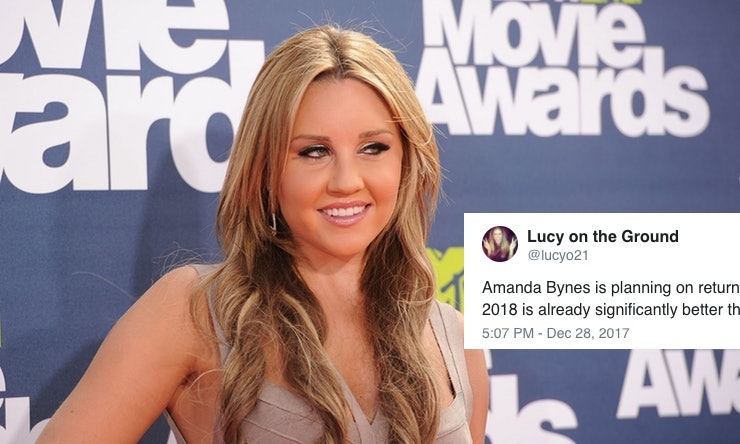 Amanda Bynes Wants to Get Back Into Acting in 2018