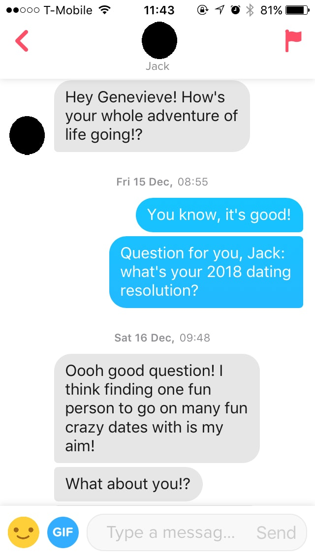 good question for dating