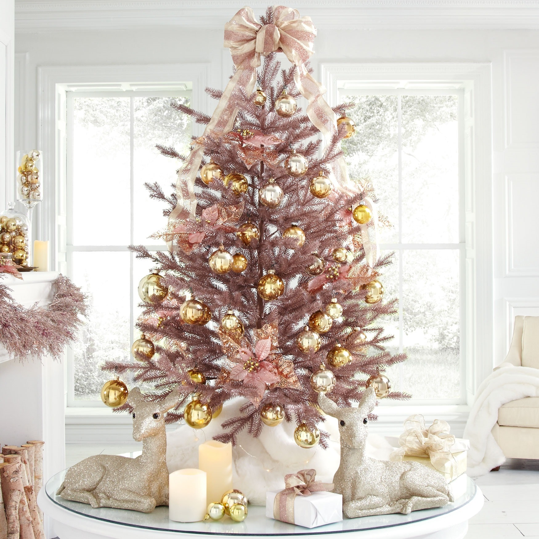 6 Rose Gold Christmas Decorations You Ll Be Totally Obsessed With