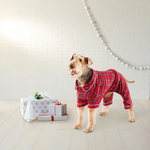 6 dog christmas pajamas that are adorable essential for cuddling