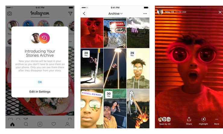 How to get instagram story highlights so you can show off your how to get instagram story highlights so you can show off your best stories long after they expire ccuart Choice Image