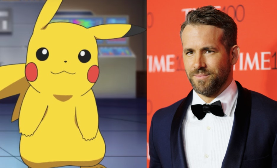 Ryan Reynolds Will Play Detective Pikachu In DETECTIVE PIKACHU