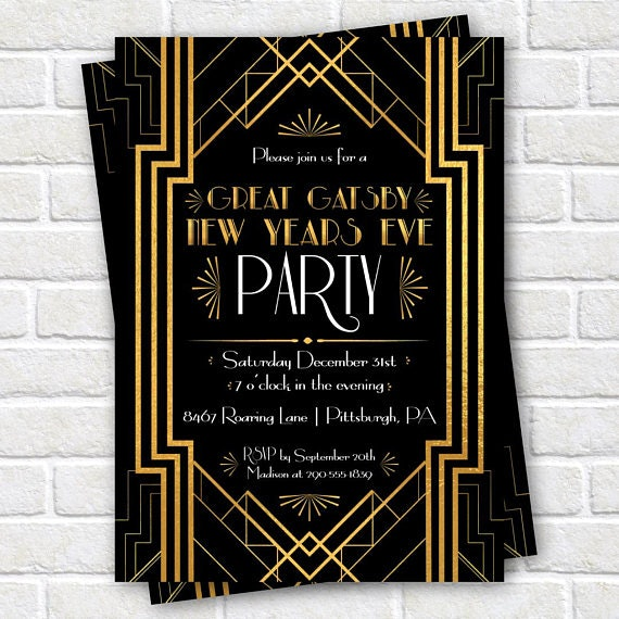 Throw A Great Gatsby Themed New Year S Eve Party With These 7 Tips