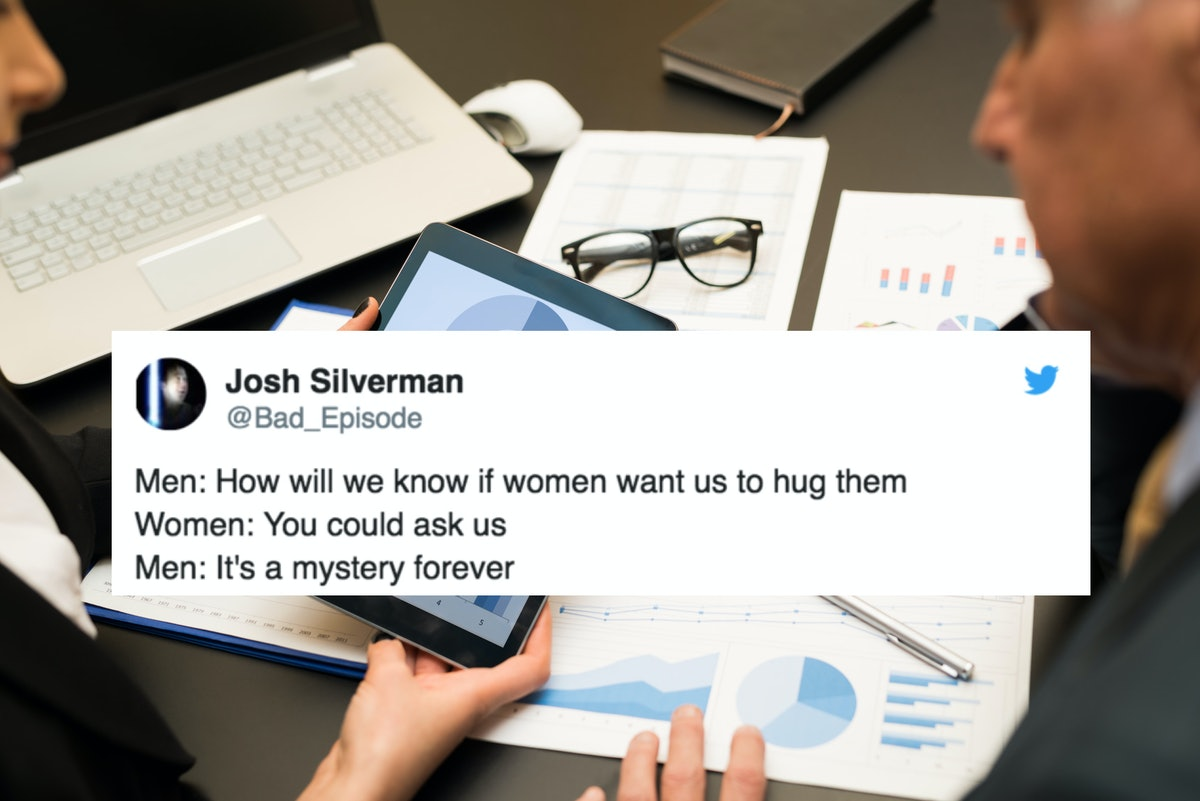 "Men ""Wonder If Hugging Women Is Still OK"" — And Twitter Is Roasting Them For It"