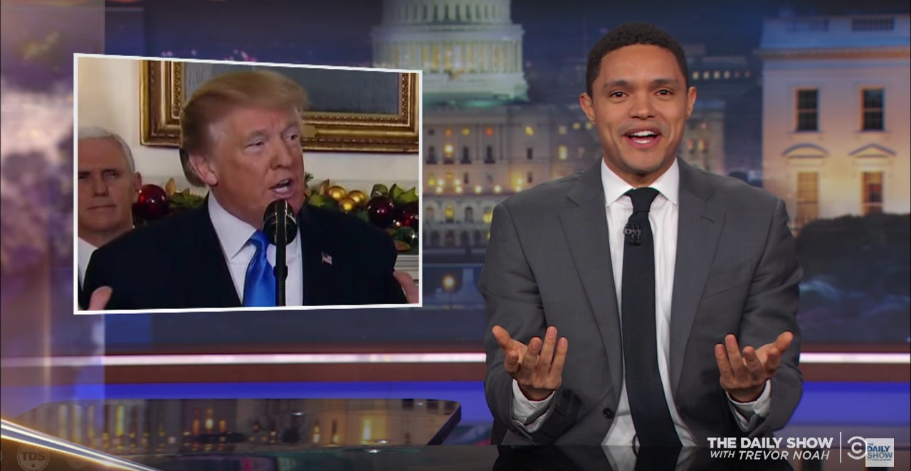 Does Trump Have Dentures? Trevor Noah Thinks He Knows Why The President Slurred His Jerusalem Speech The Daily Show with Trevor Noah