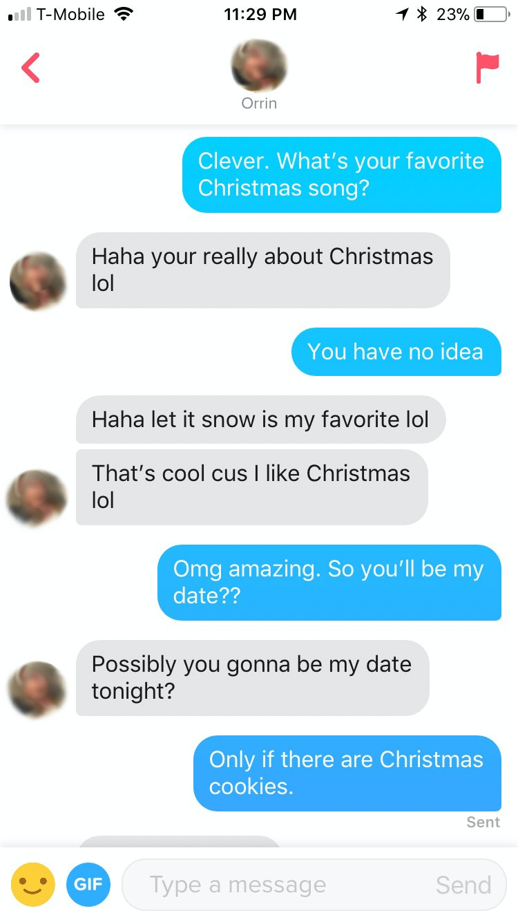 I Used Christmas Photos On Dating Apps & This Is What Happened
