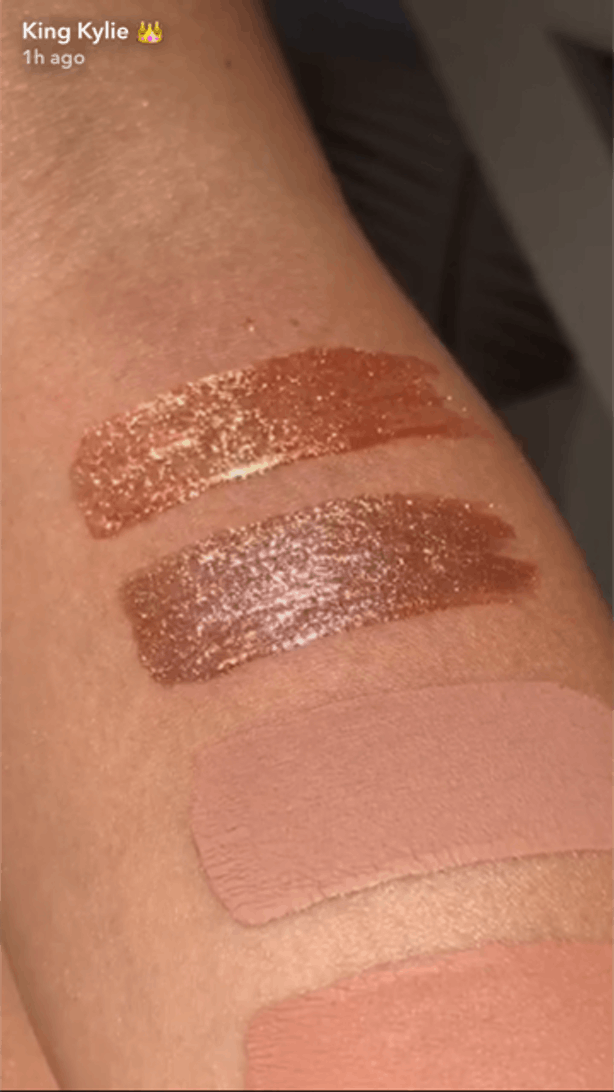 Swatches Of Kylie Cosmetics Summer 2017 Vacation