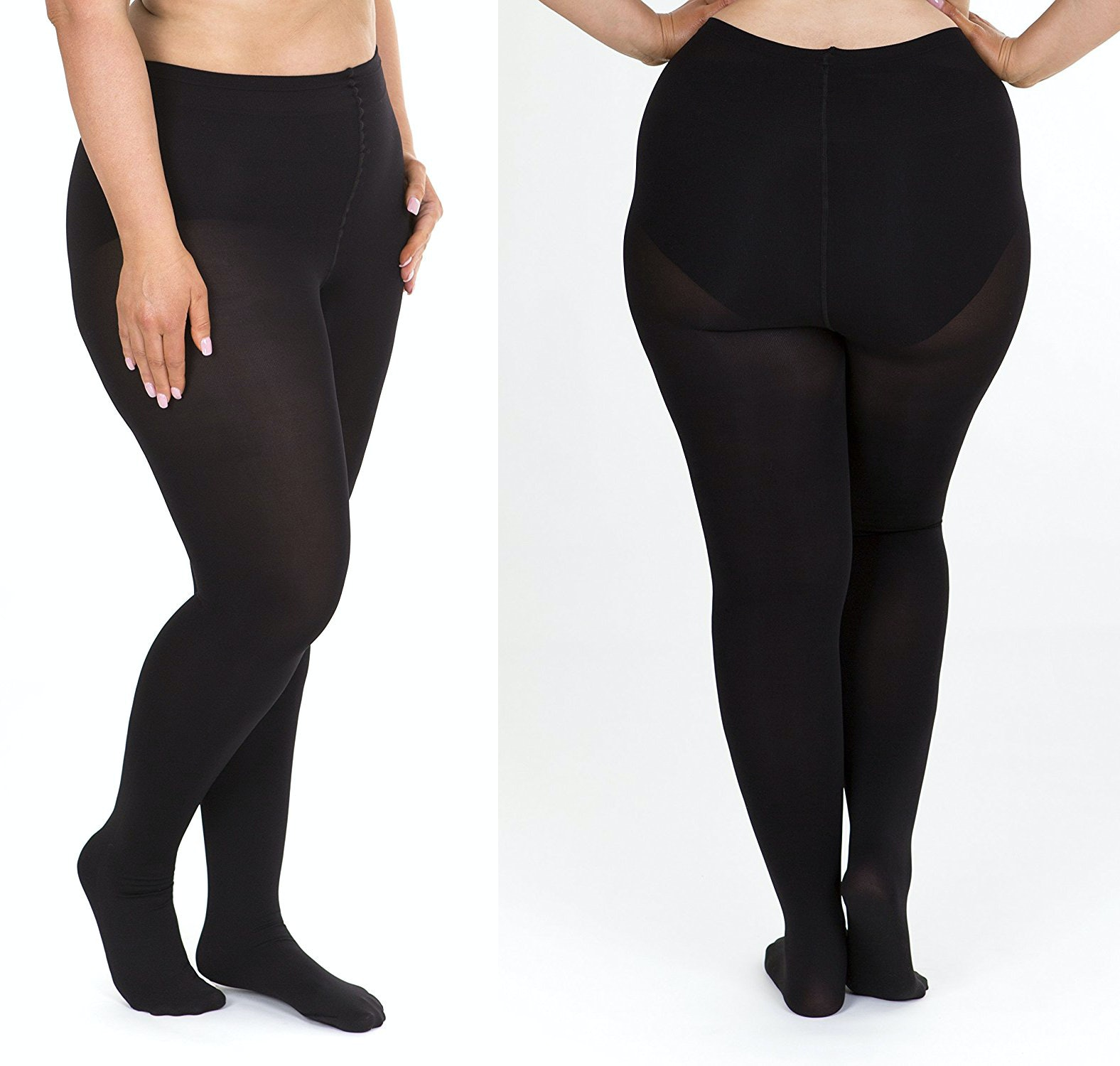 fd033e92b97b2 The 12 Best Plus Size Tights That Won't Slip Down