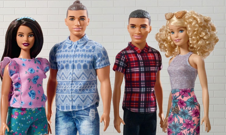 The Barbie Fashionista Line Expands To Include More Skin Tones - Doll hairstyles barbie