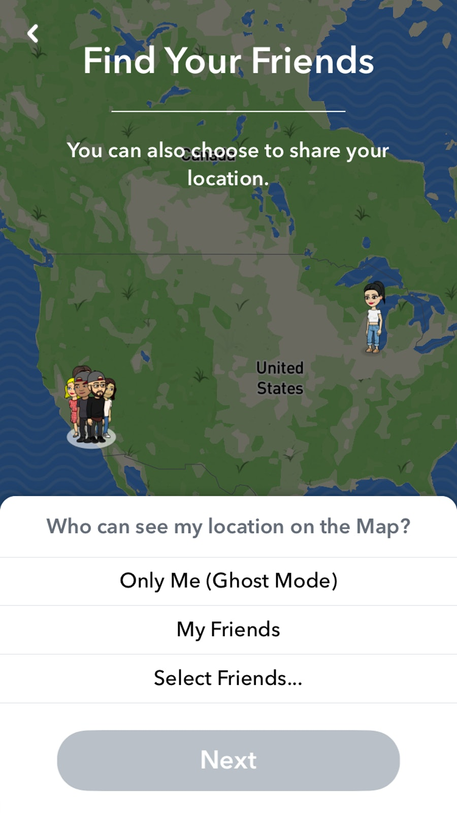How to turn off snap map on snapchat if you dont want people how to turn off snap map on snapchat if you dont want people prying into your life ccuart Choice Image