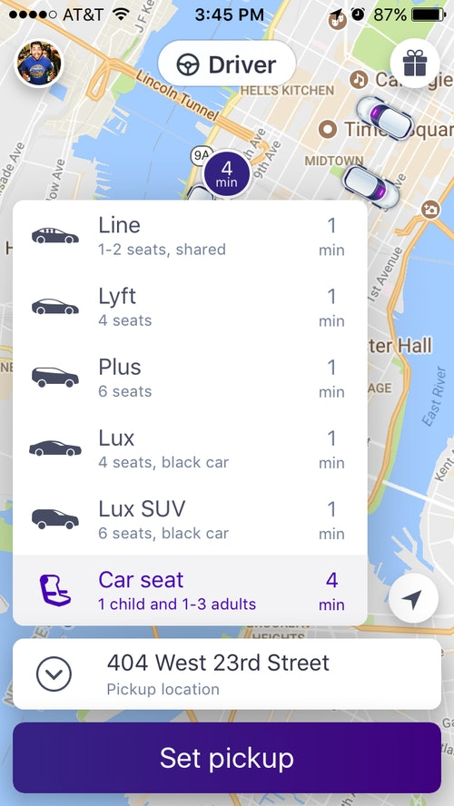 Lyft Is Now Offering Car Seats For Parents A Small Price