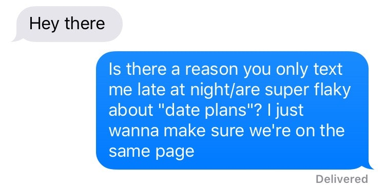 7 Sample Texts To Send To Someone Who's Breadcrumbing You