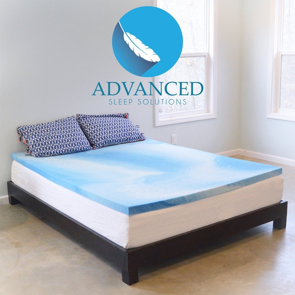 cooling blue gel pad topper cool mattress with no bed fantastic ilwoul