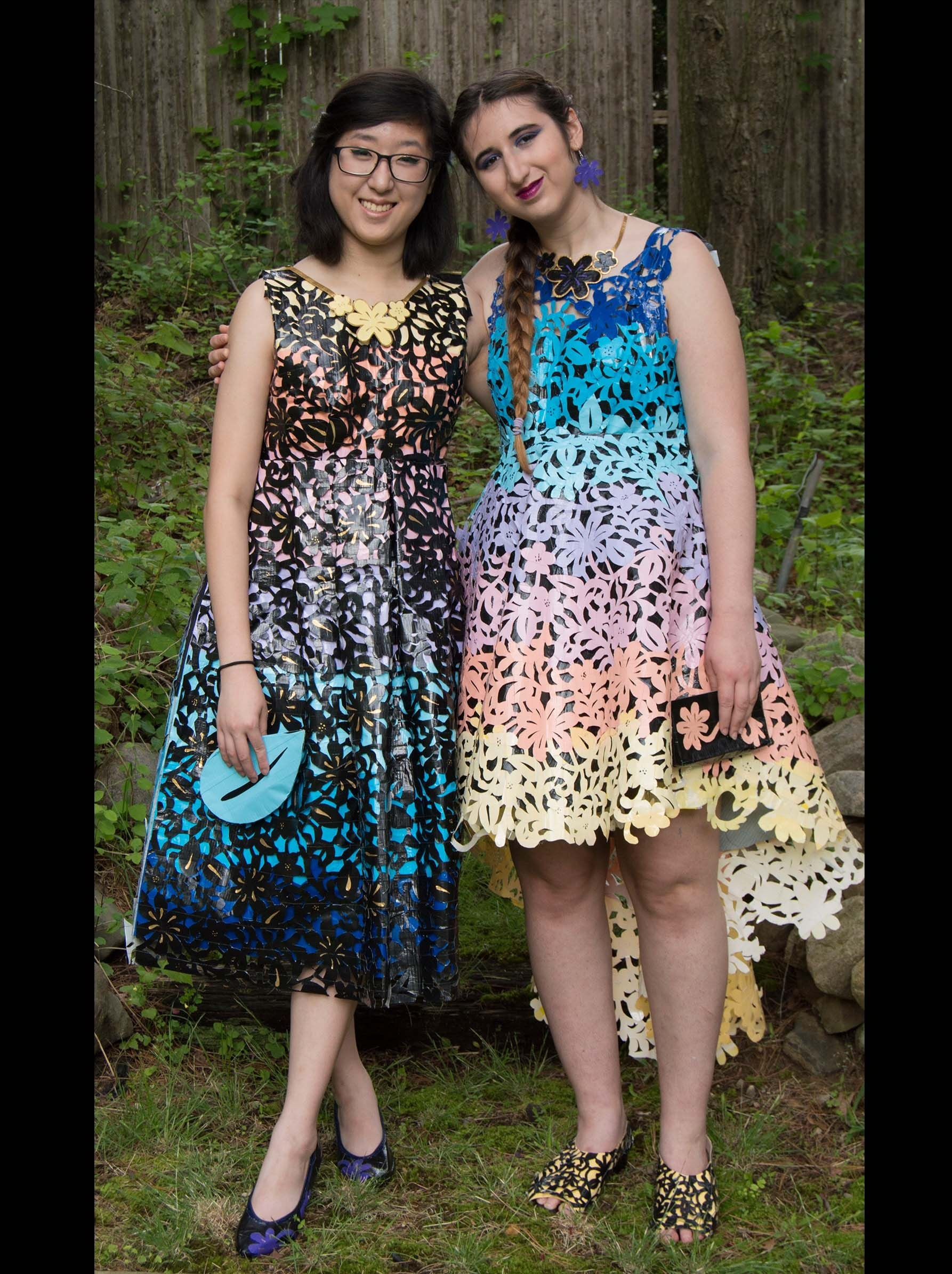 These Prom Dresses Made Out Of Duck Tape Will Totally Blow Your Mind ...