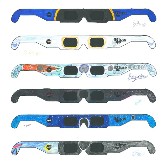 photograph regarding Printable Solar Eclipse Glasses titled 5 Sun Eclipse Actions For Little ones, Mainly because Its A At the time-In just