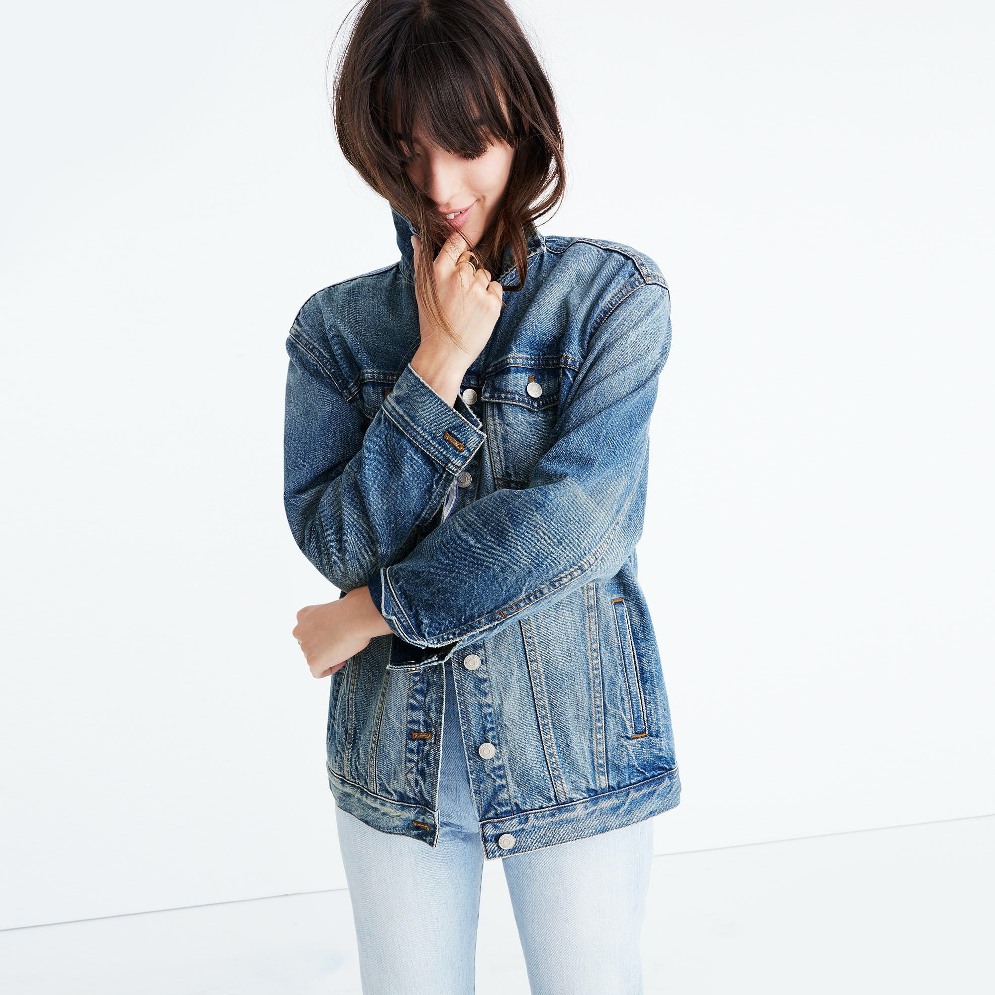 0ca2a9438d5 30 Oversized Denim Jackets That Make The Perfect Addition To Any Fall Look