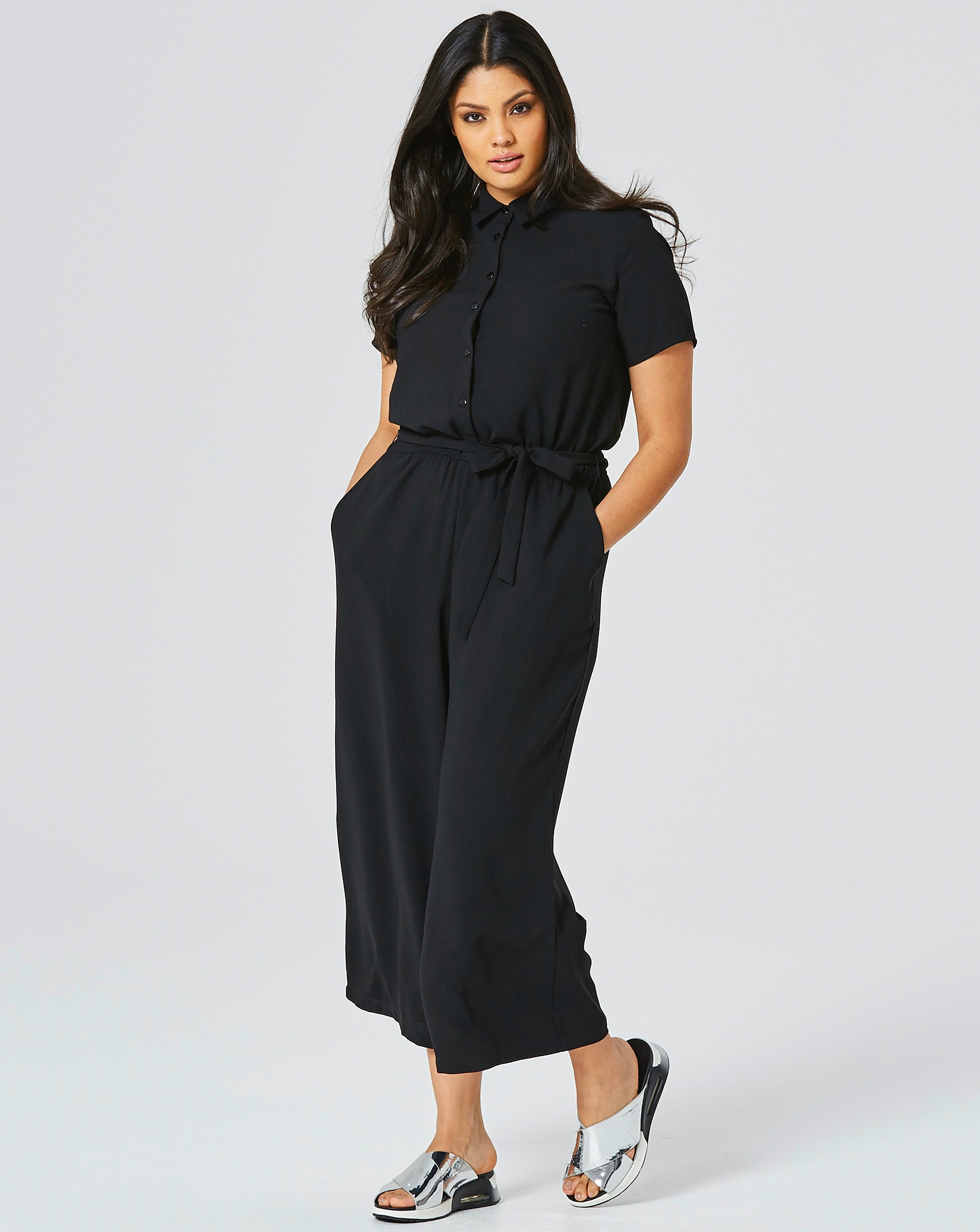 15f61fddd33531 45 Plus Size Minimal Jumpsuits For The Most Effortlessly Perfect Fall Look