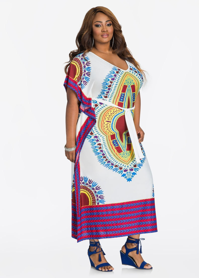 29 Plus Size Caftans That Can Easily Transition Into Your Fall Wardrobe
