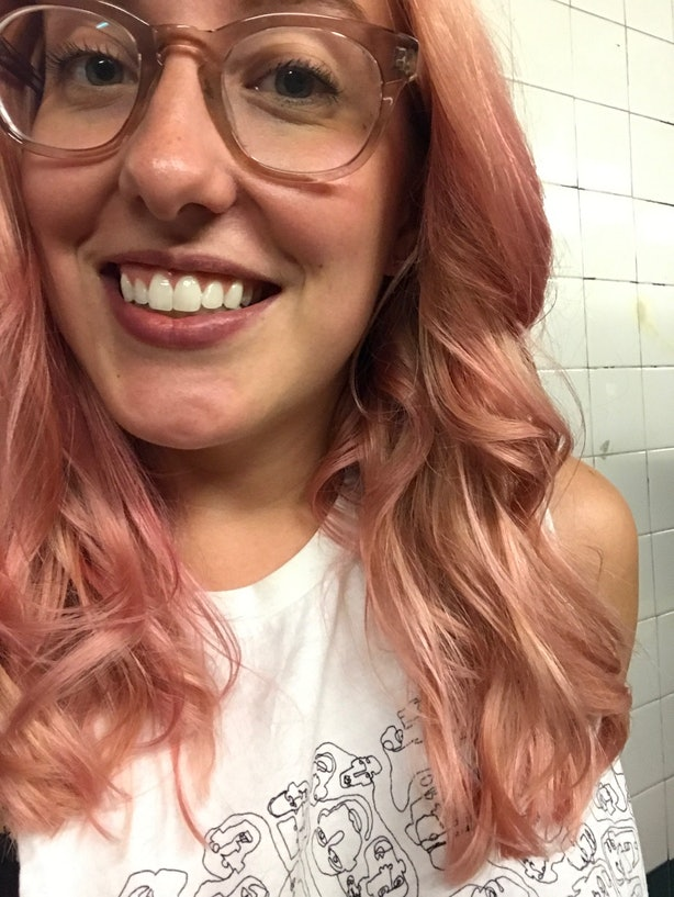 How To Dye Virgin Hair Millennial Pink Without Completely Trashing