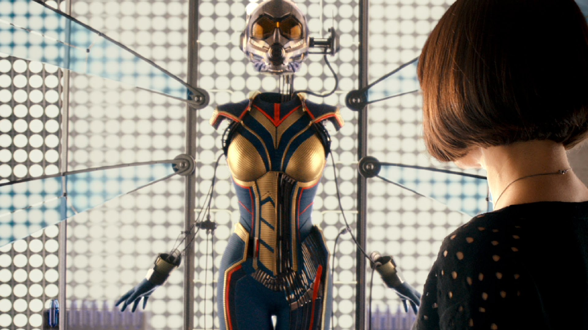 The First Photo Of Evangeline Lilly In  Ant-Man   The Wasp  Reveals Her New  Costume In The Sequel 125ccca256