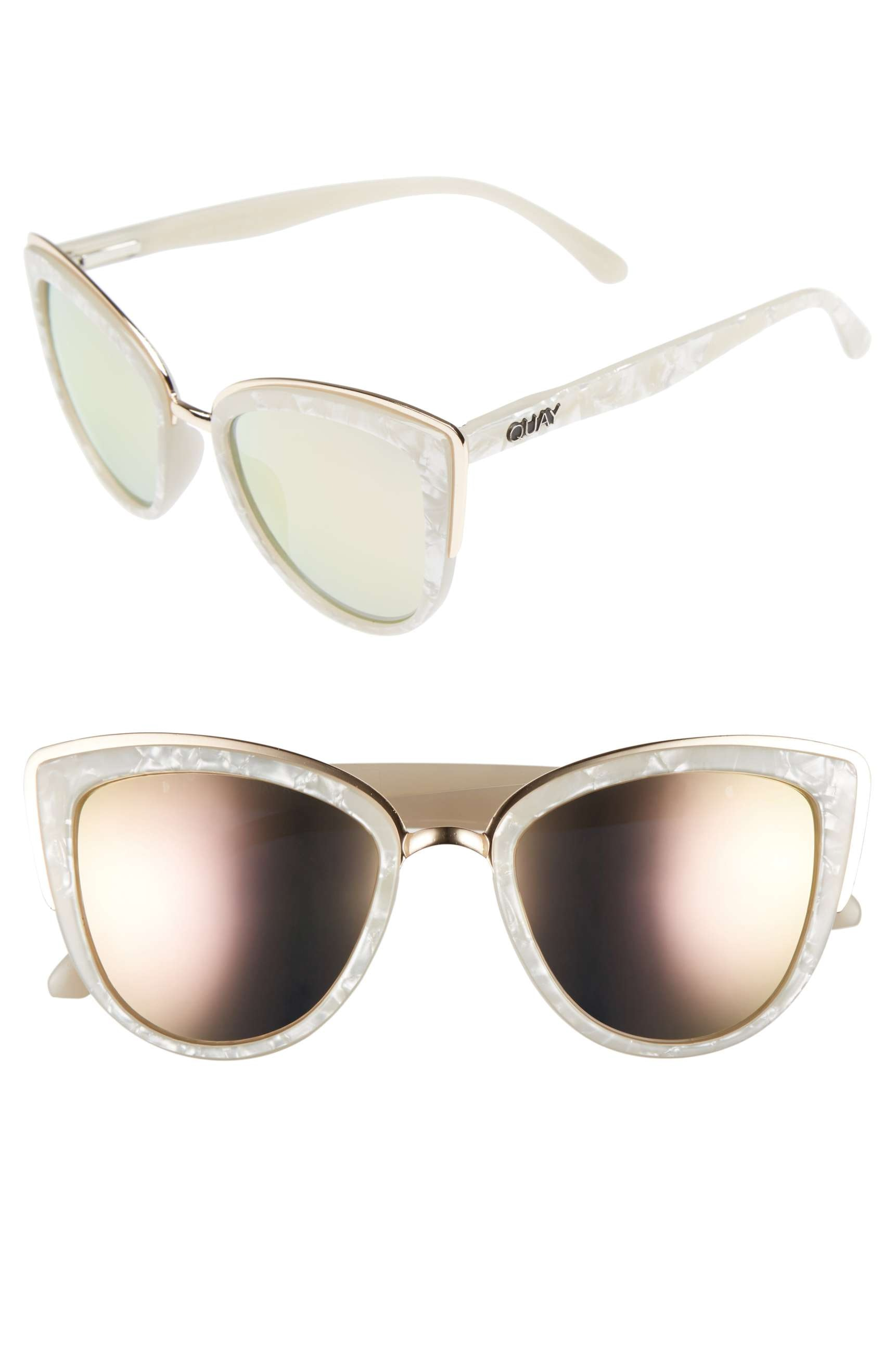 ef7c275644c Where To Buy Beyonce s Retro White Sunglasses For The Ultimate  End-Of-Summer Vibes