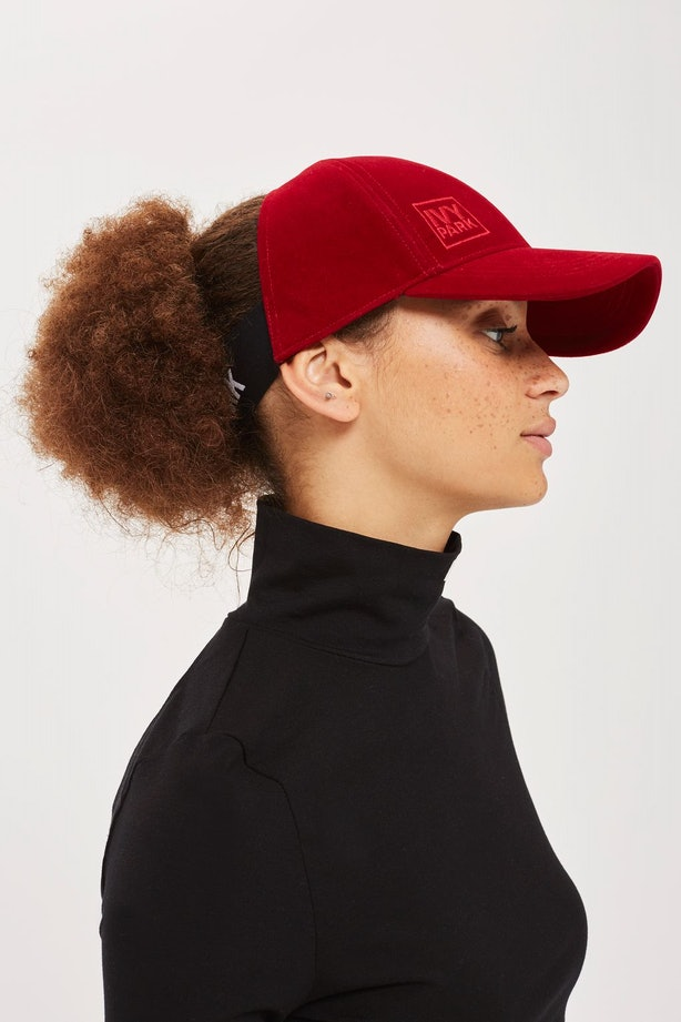 Beyonc 233 S Latest Ivy Park Hat Was Made With Curly Hair In