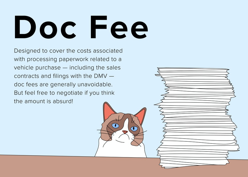 Buying A Car What Is Doc Fee