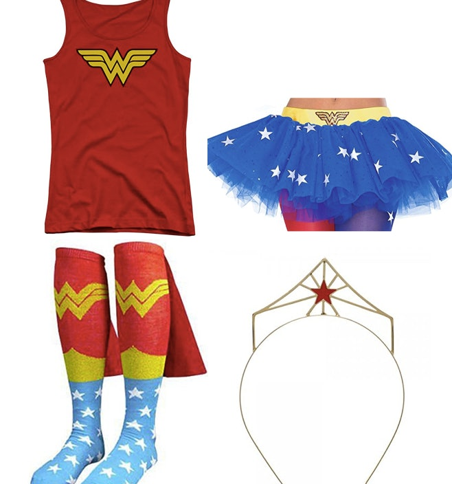 d5b12d9a5c0 11 Easy Wonder Woman Halloween 2017 Costume Ideas